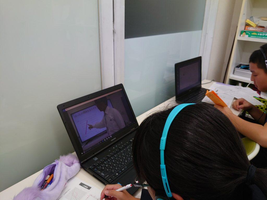 オリジナルの映像授業を 何度もみることができ 予習・復習が効率よく行えます。